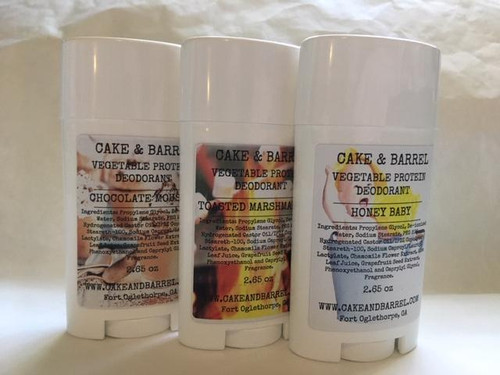 Natural Vegetable Protein Deodorant. Choose Your Scent.