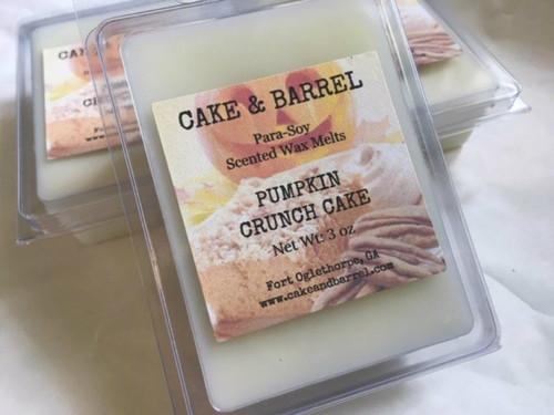 Pumpkin Crunch Cake Wax Melts