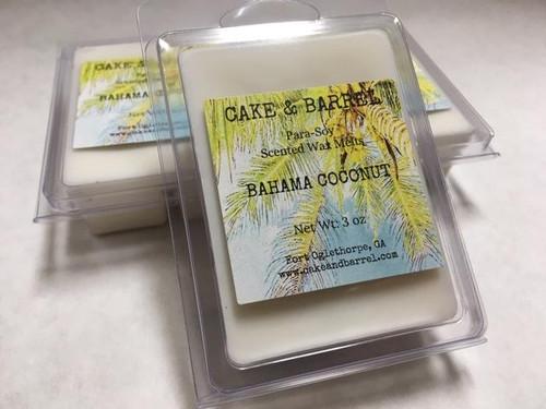 Bahama Coconut Wax Melts