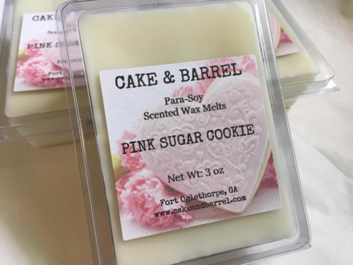 Pink Sugar Cookie Wax Melts