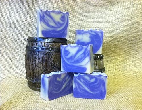 Lavender & Chamomile Huggies Goat Milk Soap