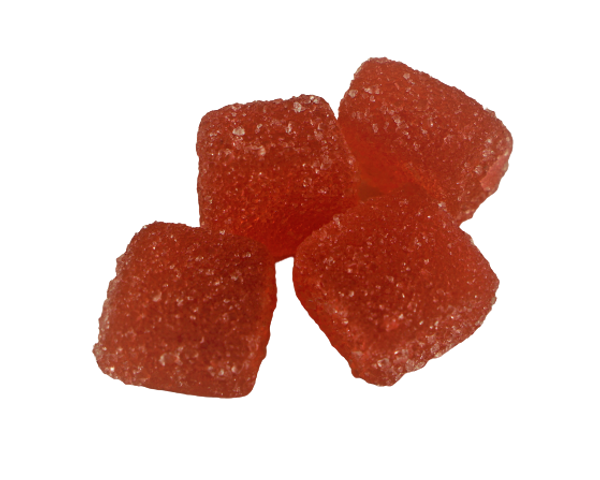 Moon Dragon Hemp Co. 25mg Delta-8 ( D8 ) gummies are pectin based and made with all natural flavors and colors. Packaged in a 16 & 32 count child resistant heat sealed bag. Moon Dragon Hemp Co. flavors available are Pineapple, Watermelon and Grape. The flavor of this summer time fruit isfresh, green, refreshing and fruity with cucumber notes.