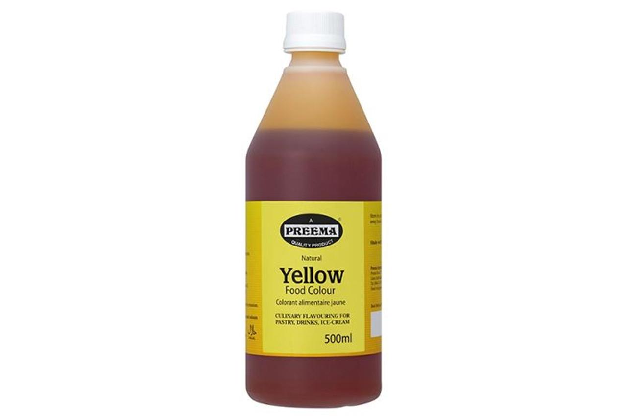 Preema - Natural Yellow Food Colour - 500ml
