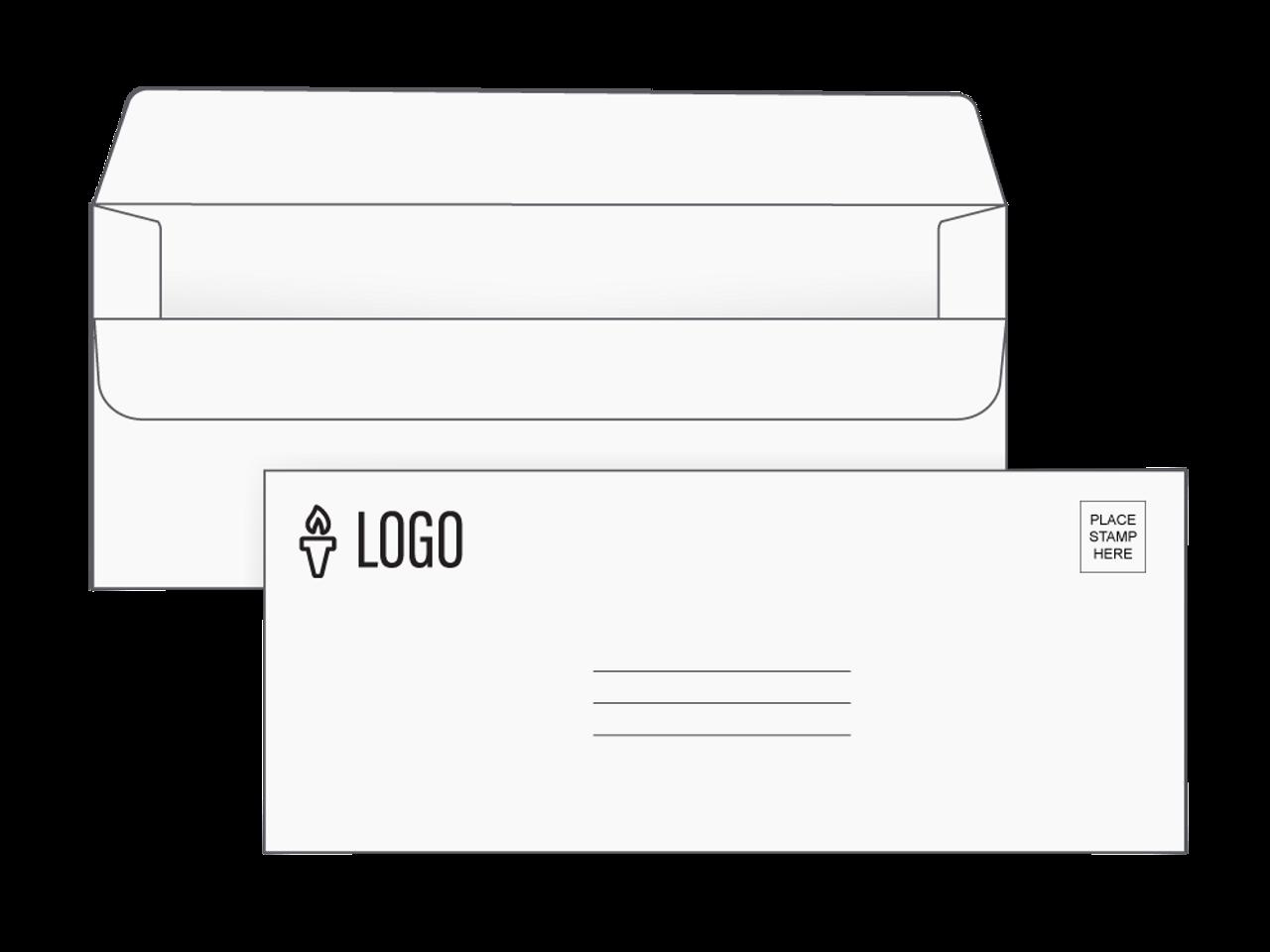 Custom Simple Seal Envelopes - EN1000