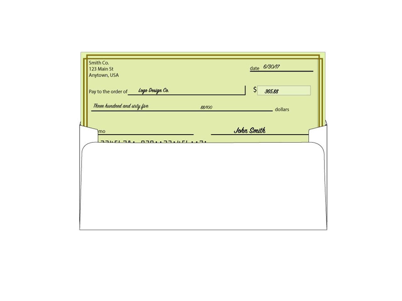 Custom Security Window Envelopes - #8 5/8 - EN1001