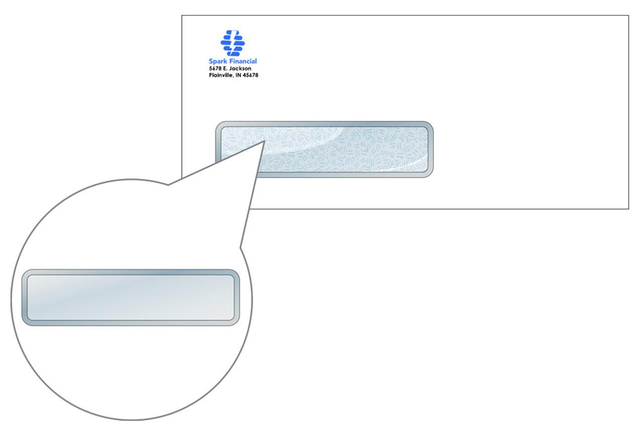 Custom #10 Self Seal Window Envelopes - EN1005