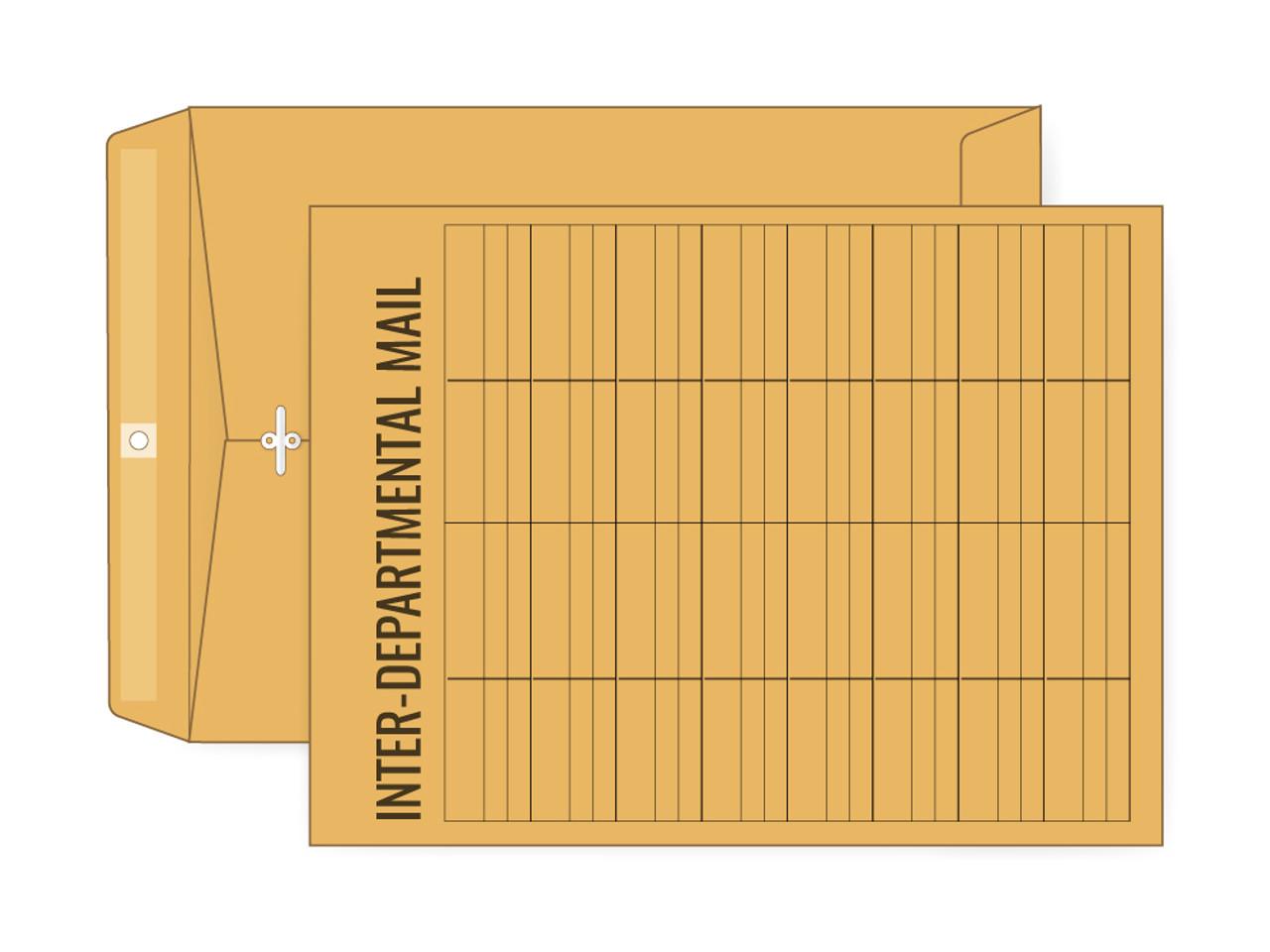 PRINTED - Custom Clasp 10x13 Manila Envelopes - EN1018