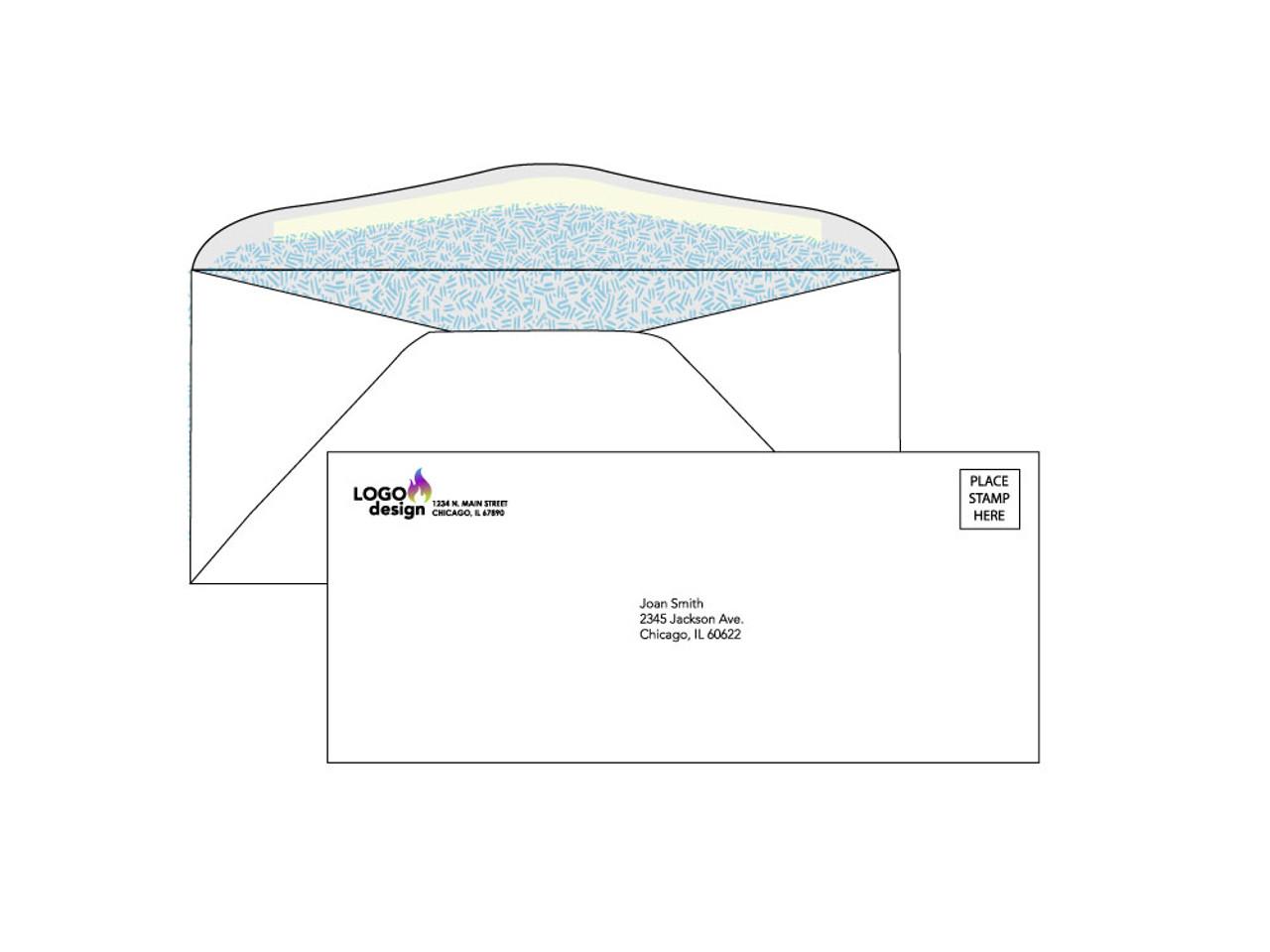 PRINTED - #9 Custom Security Envelopes - EN1029