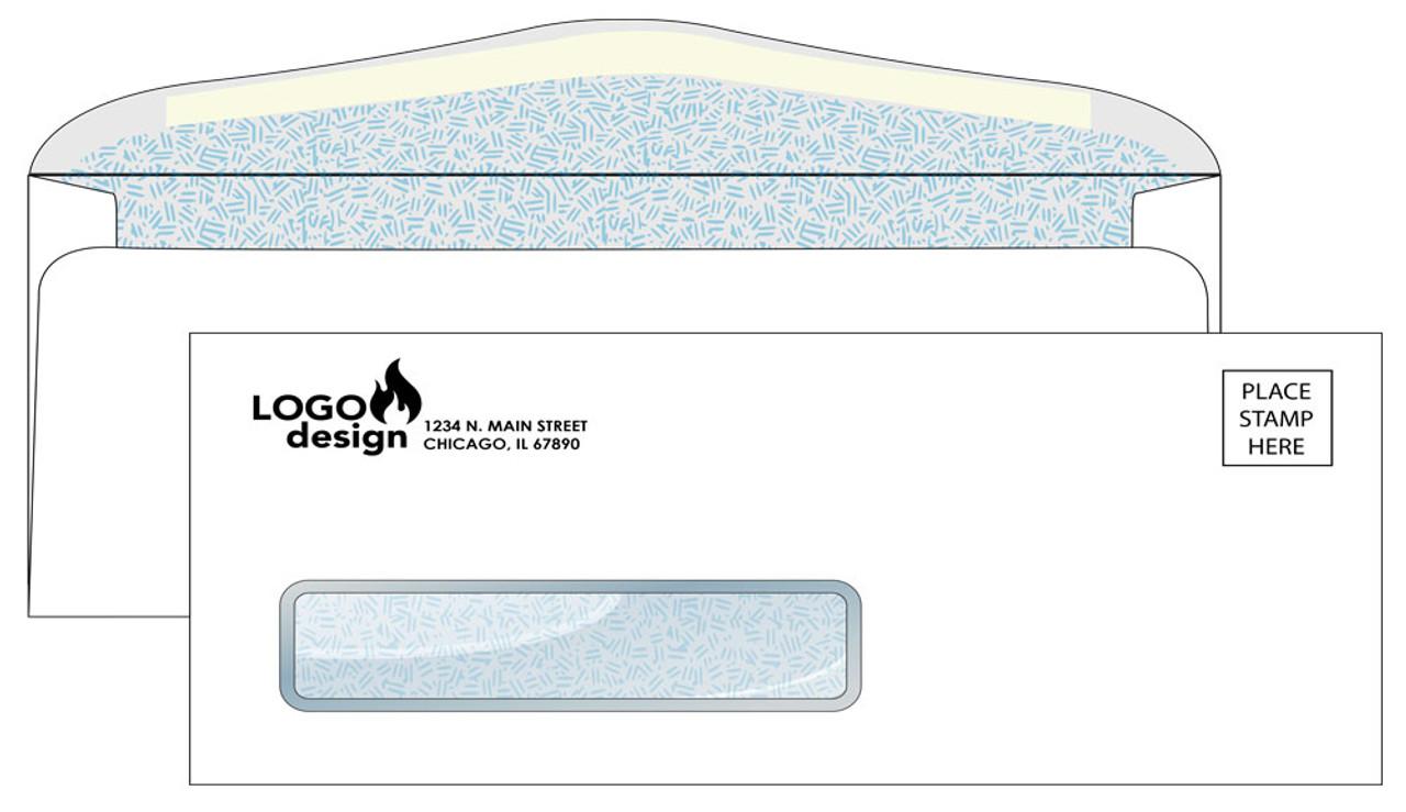 Custom #10 Security Envelopes - EN1030