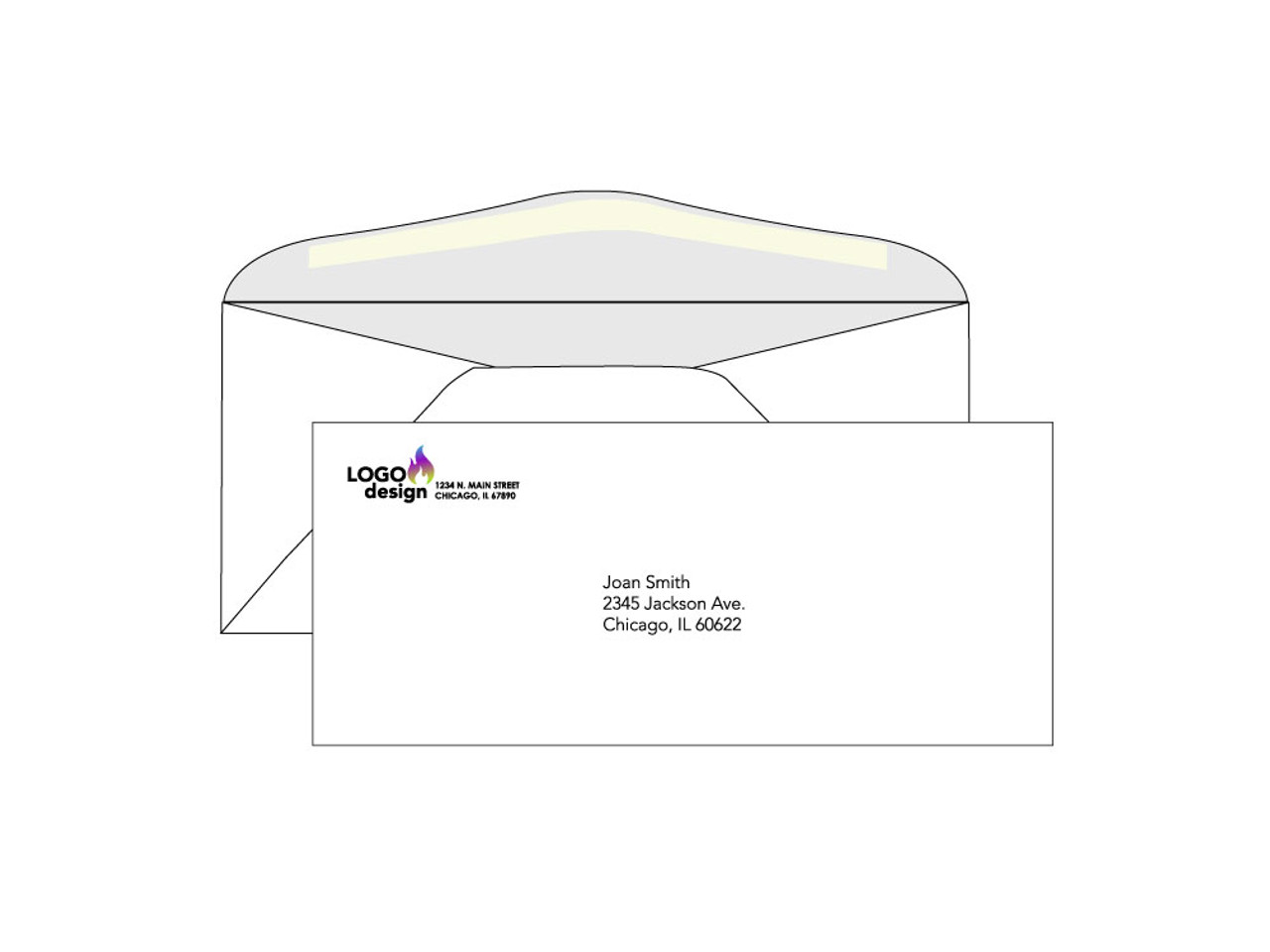 Printed #10 Envelopes - EN1031