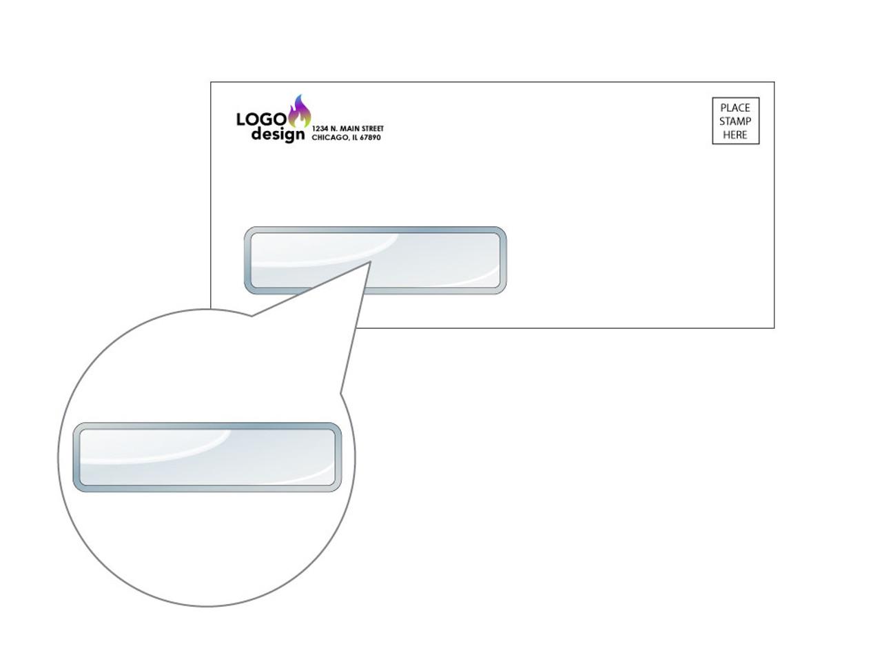 Custom #9 Window Envelopes - EN1041
