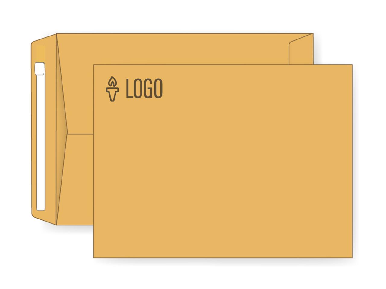 PRINTED - Custom Manila 9x12 Self Seal Envelopes - EN1009