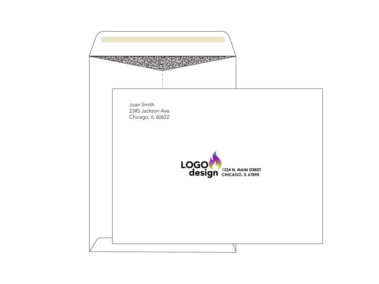 Security 9x12 Printed Envelopes - EN1010