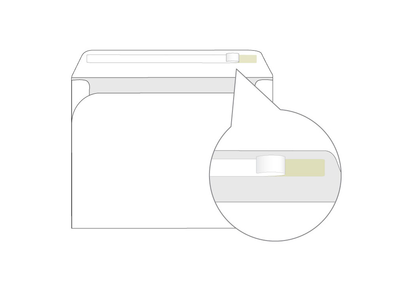 Custom Booklet 9x12 Self Seal Envelopes - EN1011
