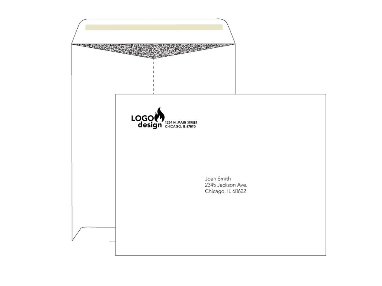 Custom 10x13 Security Envelopes - EN1014