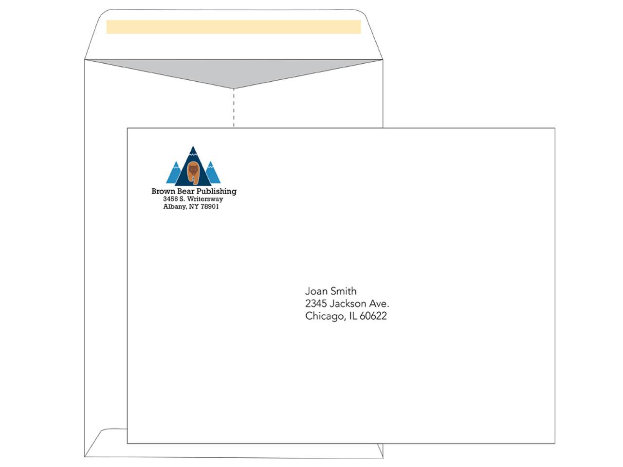 PRINTED - Custom 9x12 Envelopes - EN1036