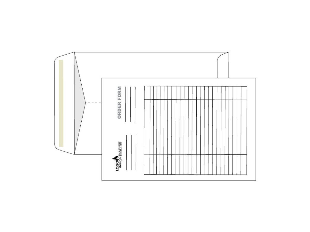 PRINTED - Custom 6x9 Envelopes - EN1048