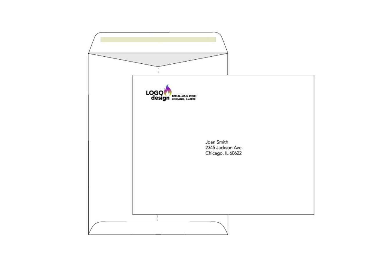 Custom Printed 10x13 Envelopes - EN1050