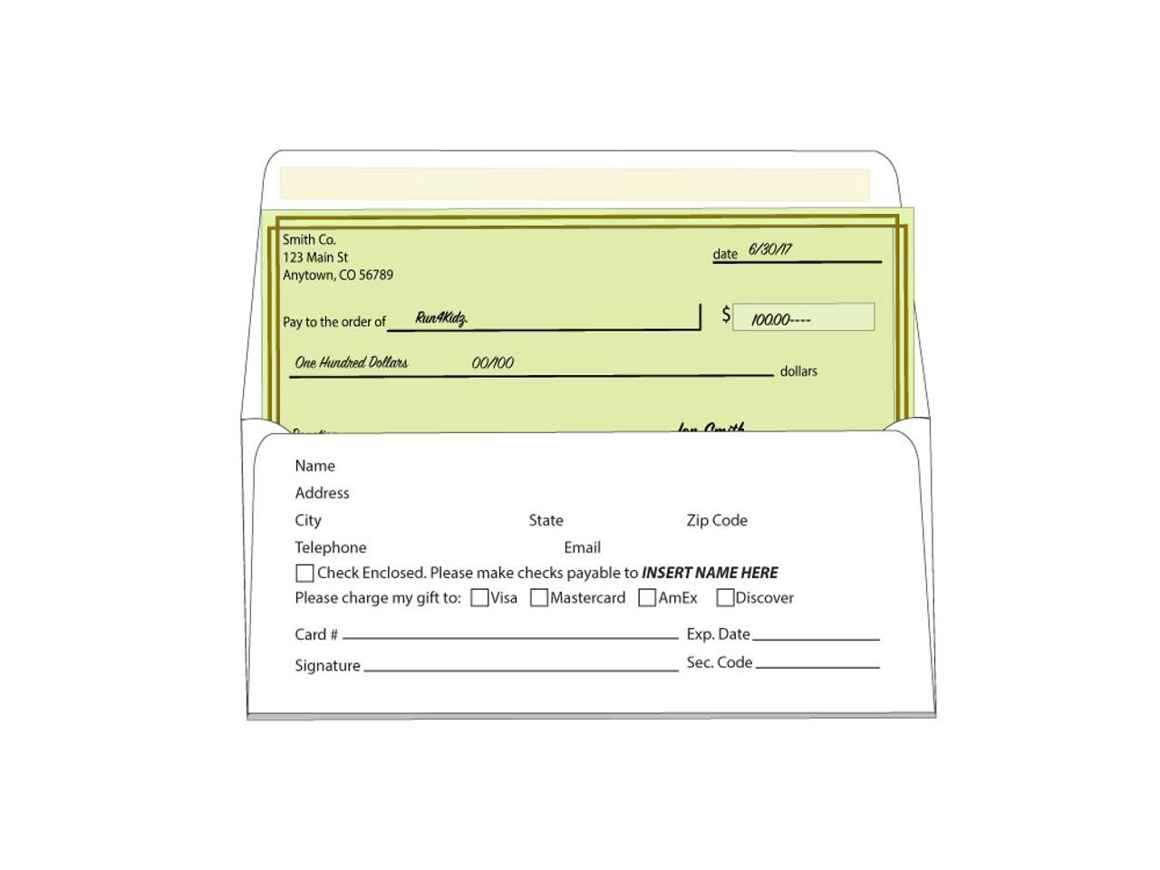 Custom #9 Remittance Envelopes - EN1002