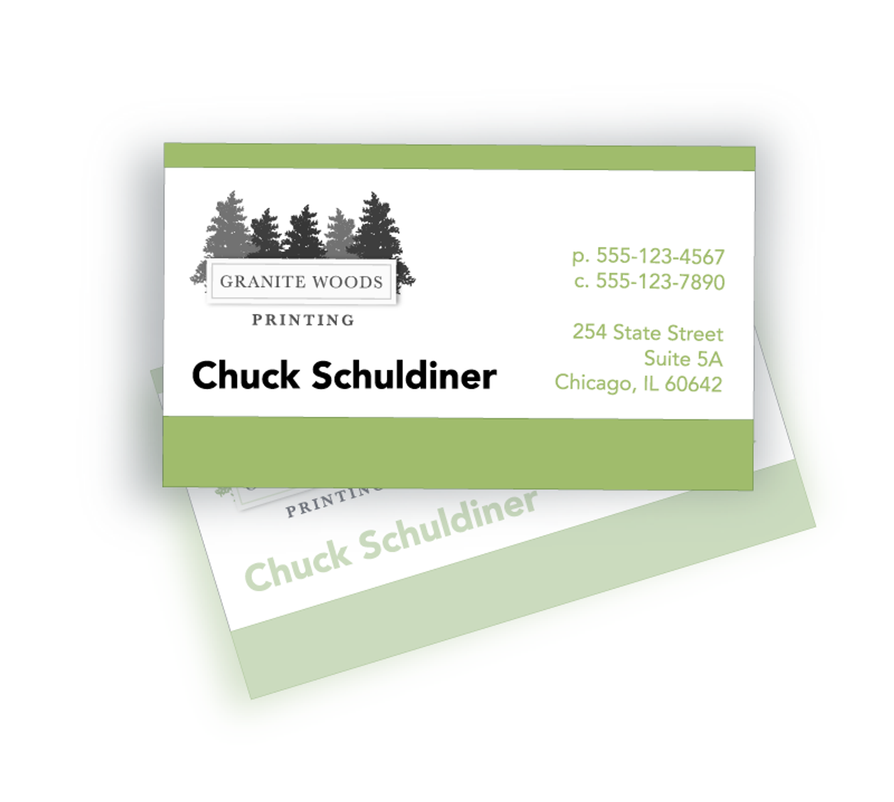 Printed Business Cards - BC1002