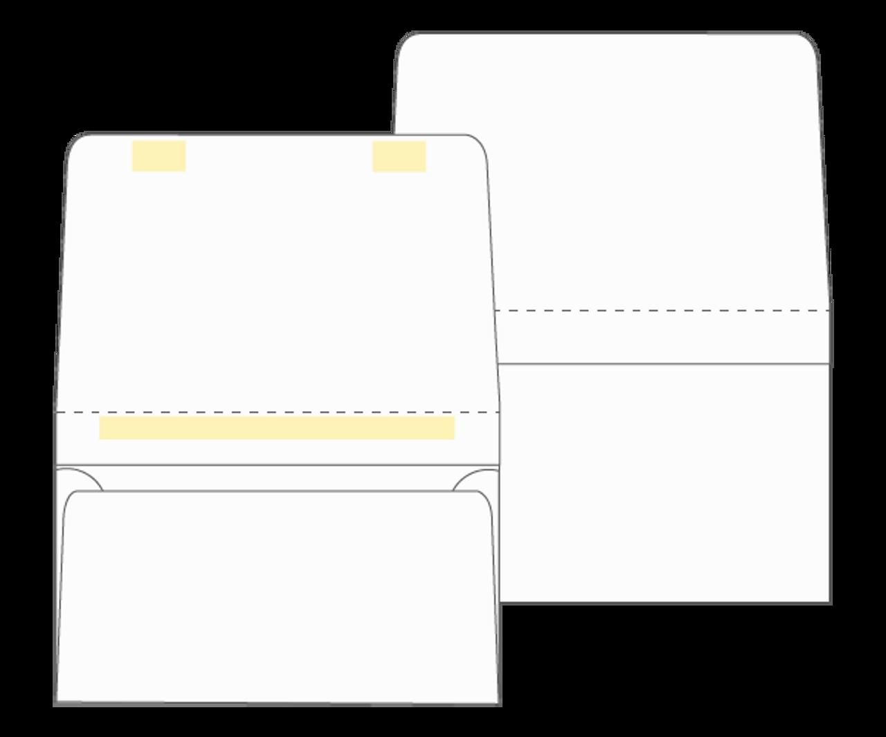 Dual Purpose Mailer - Tear Off Remittance Envelope (Blank) - EB1501