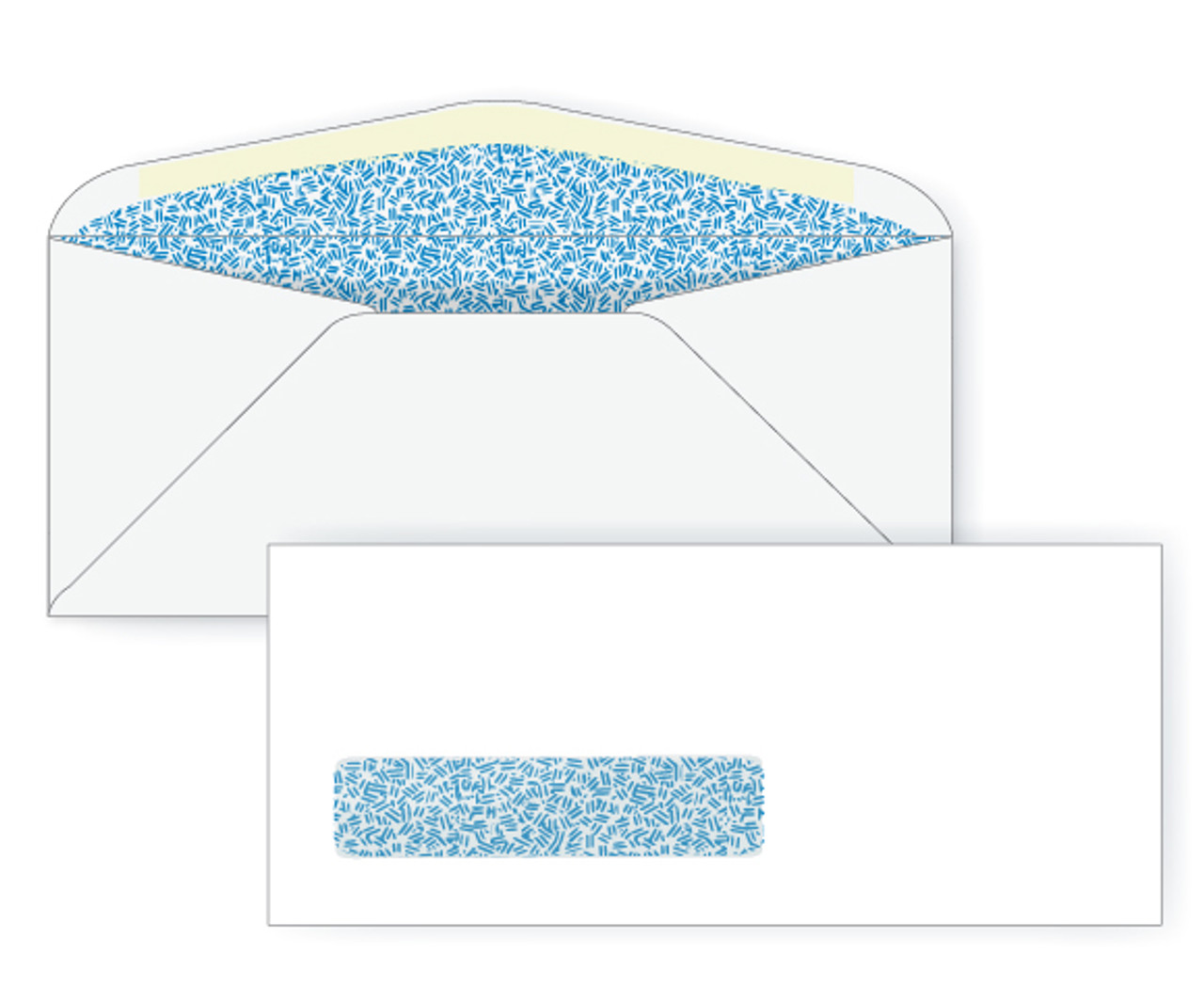 #10 Digital Window Security Envelopes - EB1504