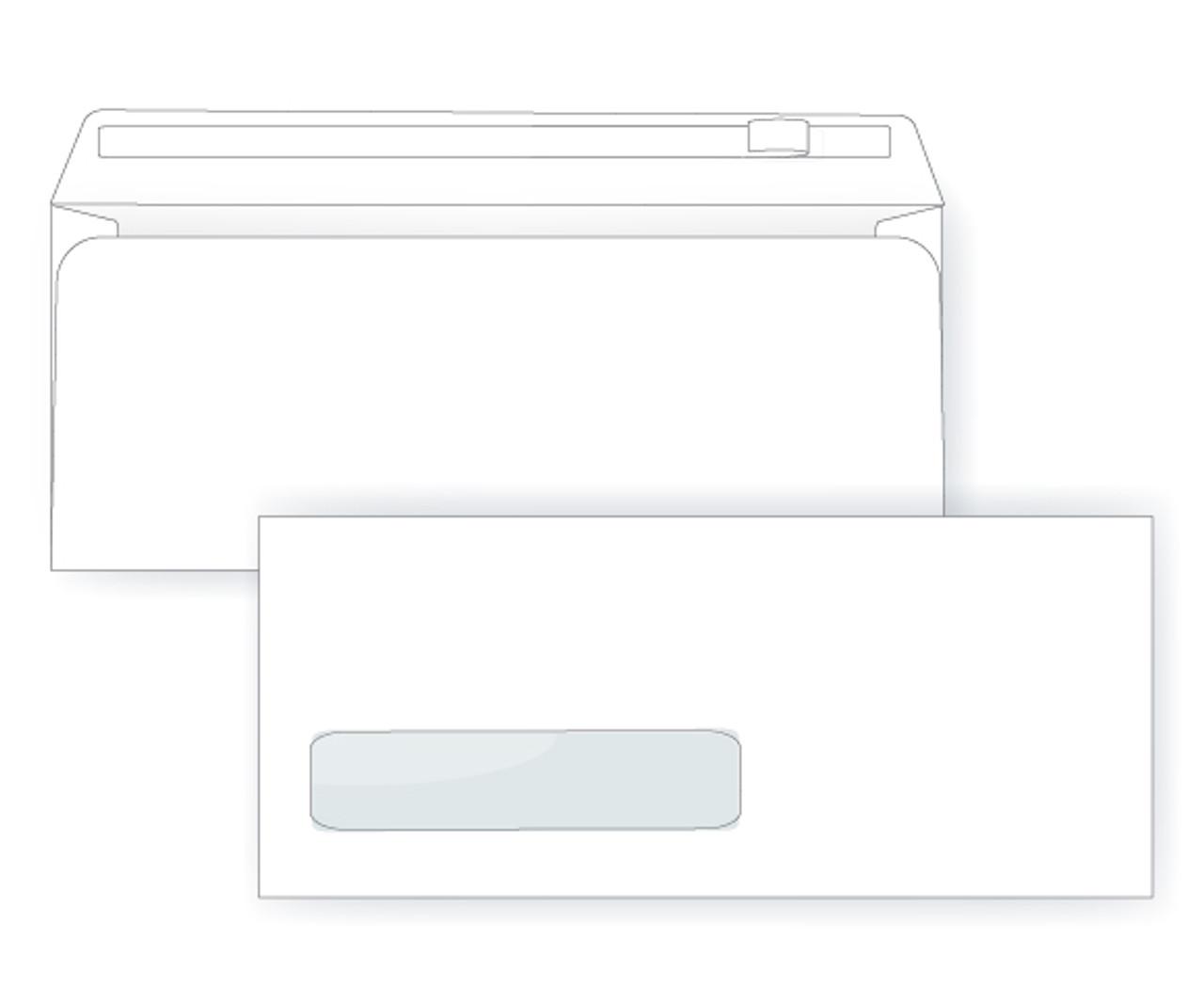 #10 Self Seal Digital Envelopes   Digital Window Envelopes - EB1506