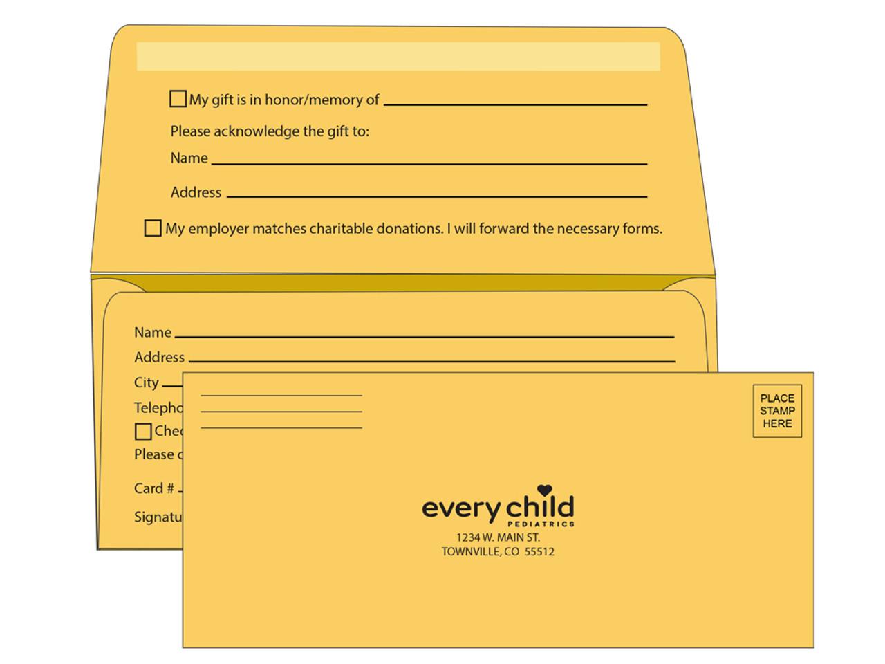 9 Remittance Envelopes | Remittance Envelopes for Fundraising - EN1096