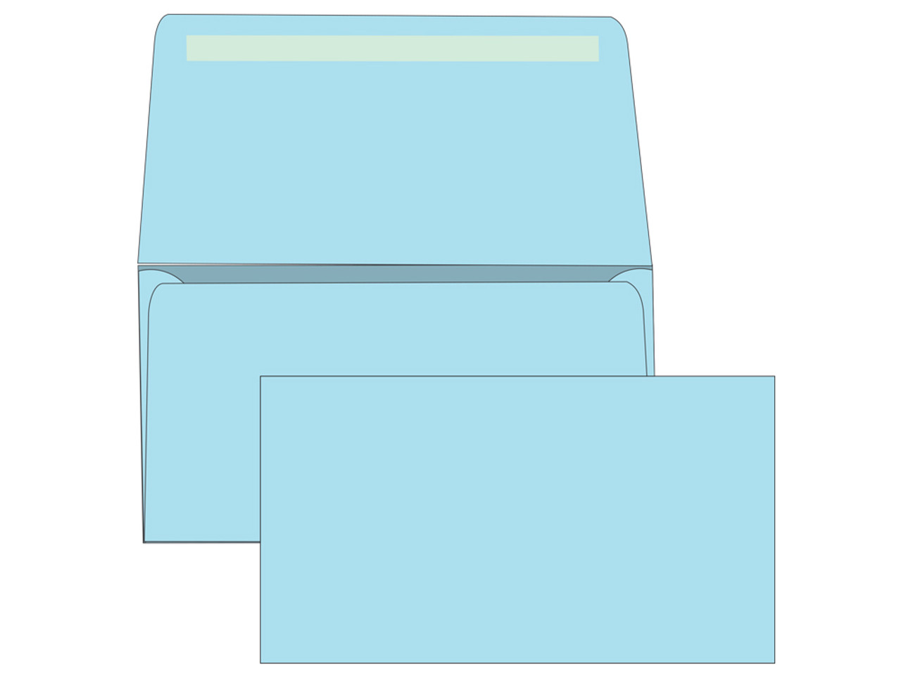 # 6 3/4 Blank Remittance Envelopes - Colored - EB1507