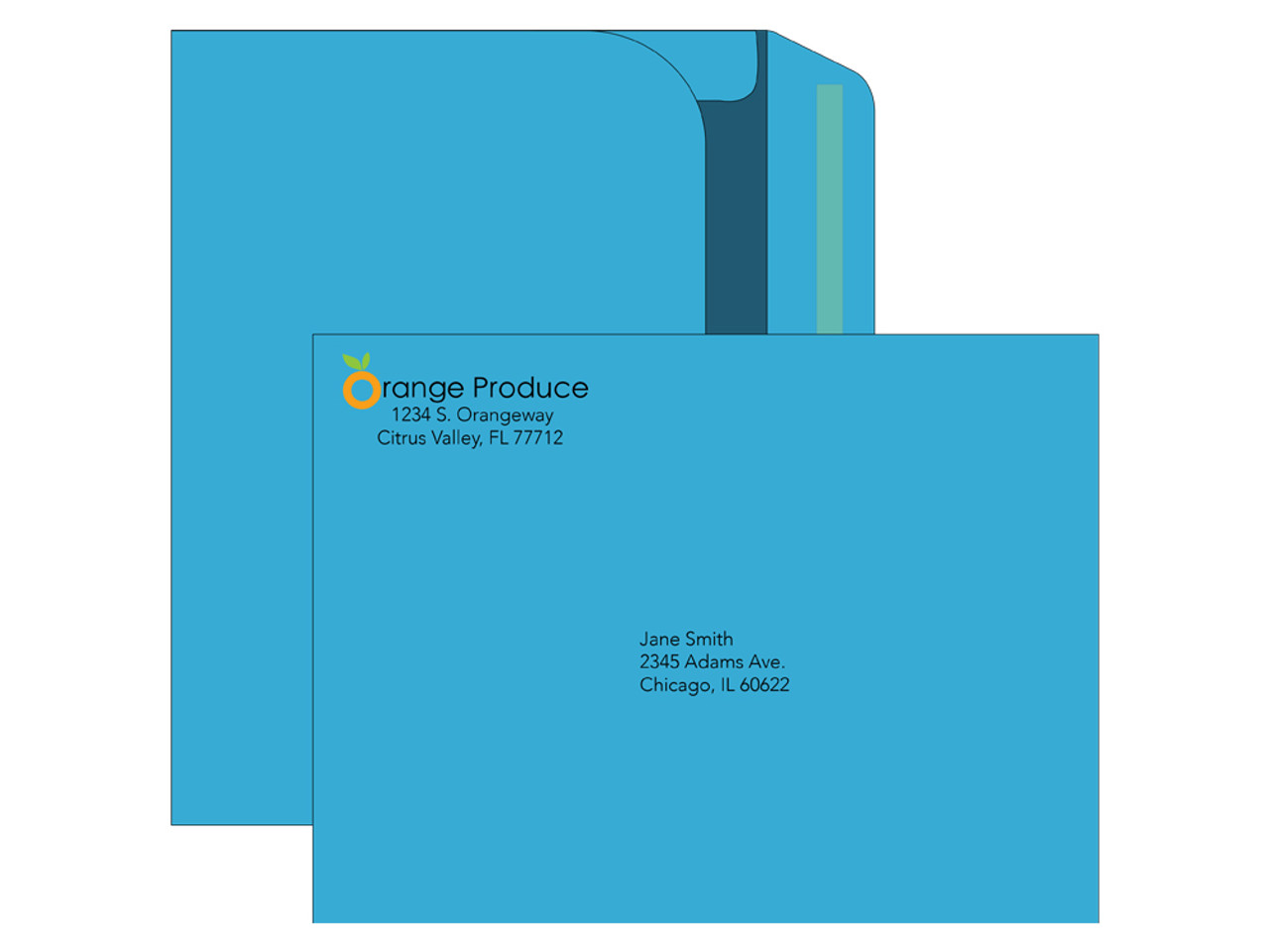 Custom Colored 9x12 Booklet Envelopes - EN1097