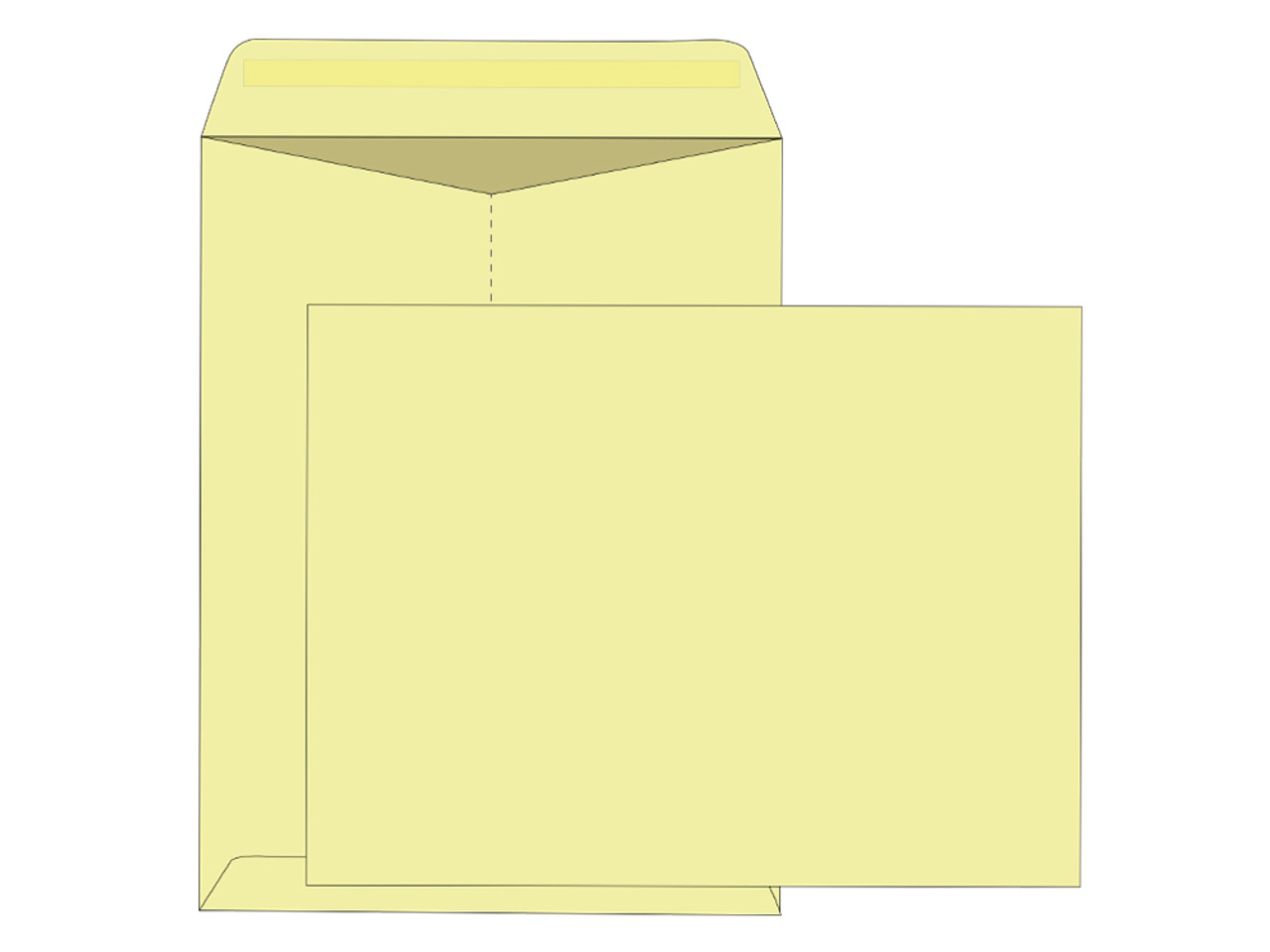 Pastel Colored Mailing Envelopes 9x12 - EB1512