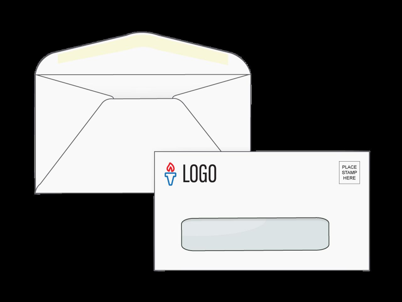 Custom # 7 3/4 Window Envelopes