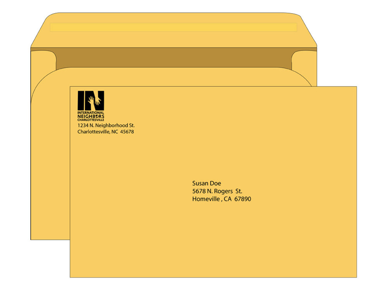 6x9 Colored Envelopes - EN1084