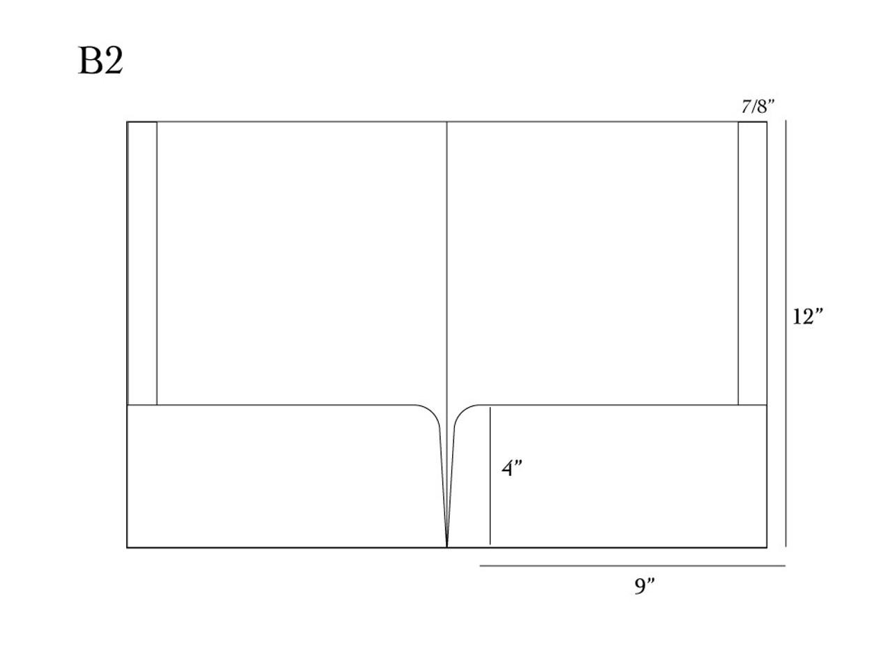 Custom Presentation Folders - Full Color - FL1001