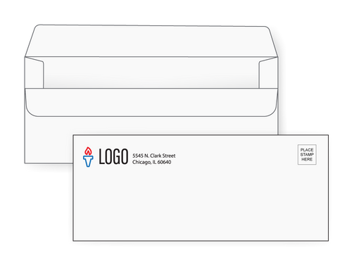 Custom Simple Seal Envelopes - EN1000