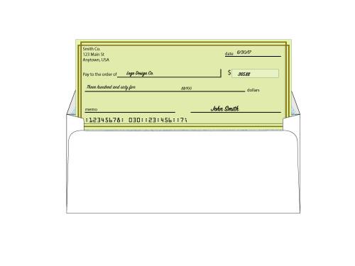 Custom #10 Security Window Envelopes - EN1003