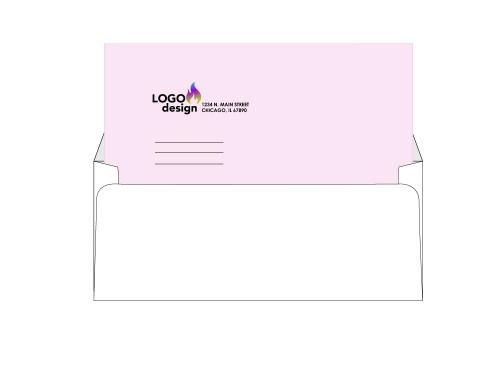 Custom Self Seal Window Envelopes - #10 EN1012