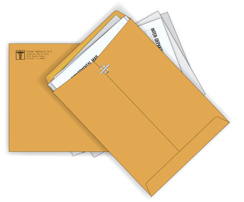 PRINTED - Custom Clasp 10x13 Manila Envelopes - EN1018