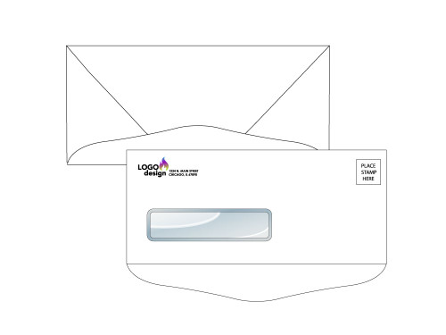 Custom Reverse Flap Envelopes - EN1022