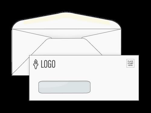Custom #10 Window Envelopes - EN1032