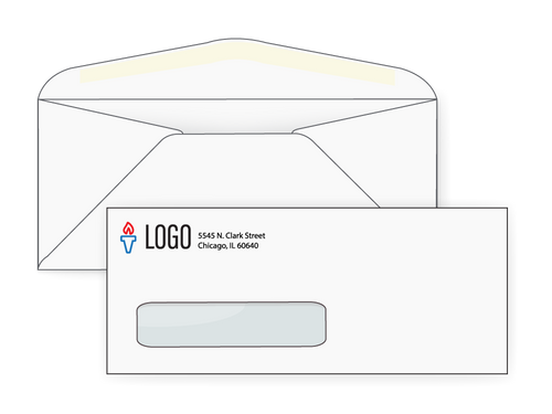 Custom #10 Window Envelopes - EN1032