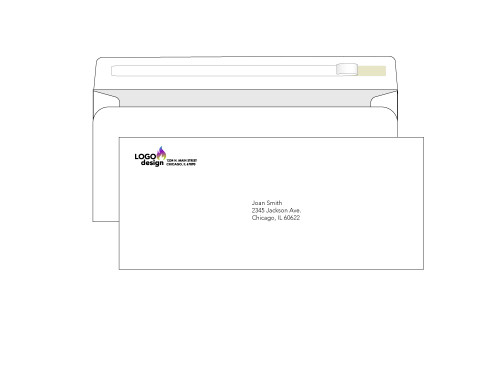 10 Custom Self-Seal Envelopes - EN1033