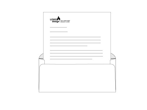 Custom #9 Window Envelopes - EN1041