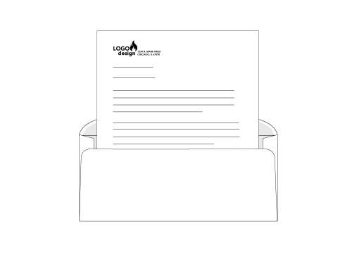 Custom Right Window Envelopes - EN1042