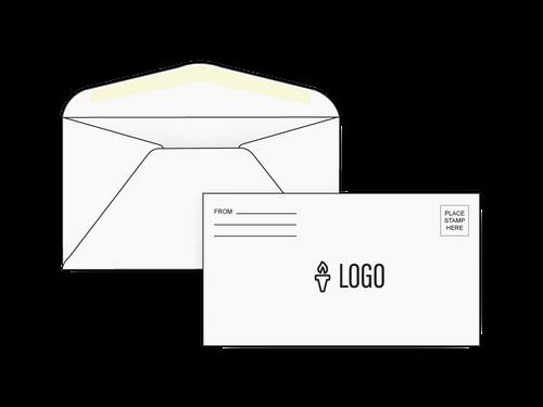 Custom #6 3/4 Check Size Envelopes - EN1043