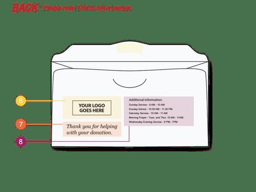 Custom Offering Envelopes - Easy to Use - EN2500