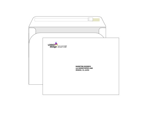 Custom Booklet 9x12 Self Seal Envelopes - EN1011