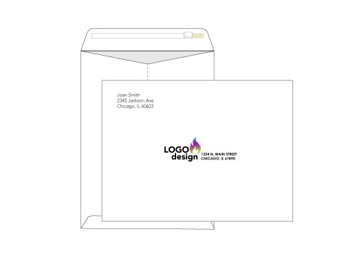 Custom 9x12 Self Seal Envelopes - EN1060