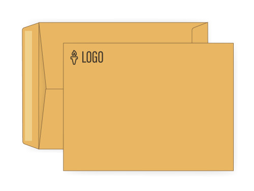 PRINTED - Custom Manila Envelopes 9x12 - EN1071