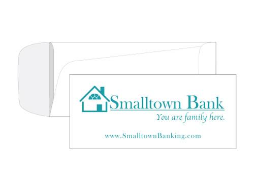 Custom Banking Envelopes - EN1087